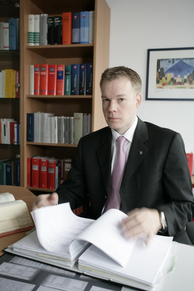 Fachanwalt Arbeitsrecht Quickborn Nils Von Bergner